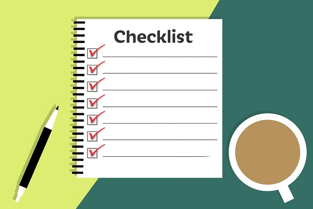 moving checklist photo